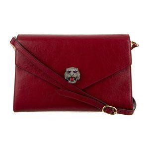 Gucci Thiara Envelope Shoulder Bag in Red
